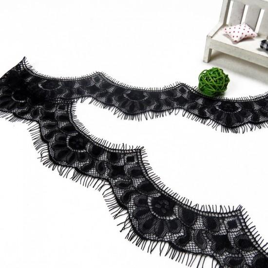 Aksamitka tasiemka brokatowa złota TA40277 15mm długość 30 yrd