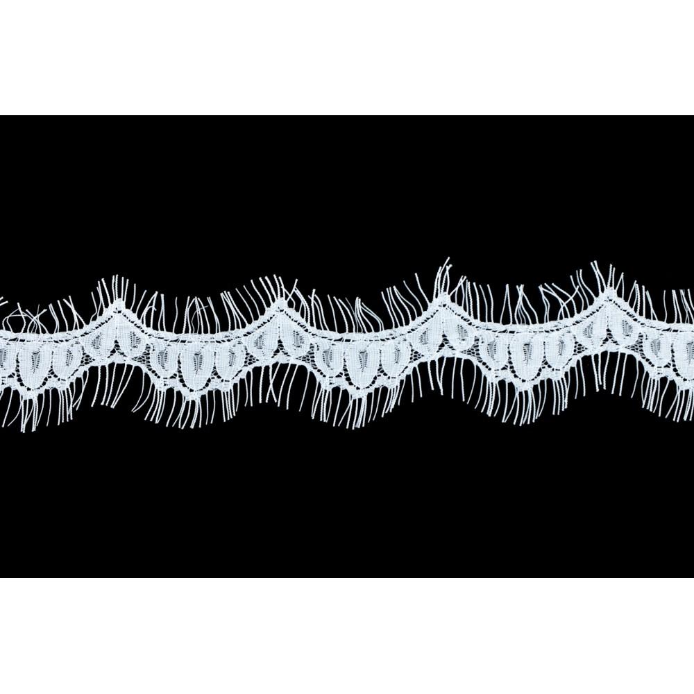 Aksamitka brokatowa srebrna tasiemka TA40277 10mm długość 30 yrd