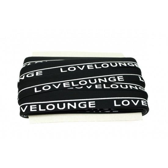 Taśma plisowana szyfonowa z żyłką biała 60 mm dwuwarstowa 1y
