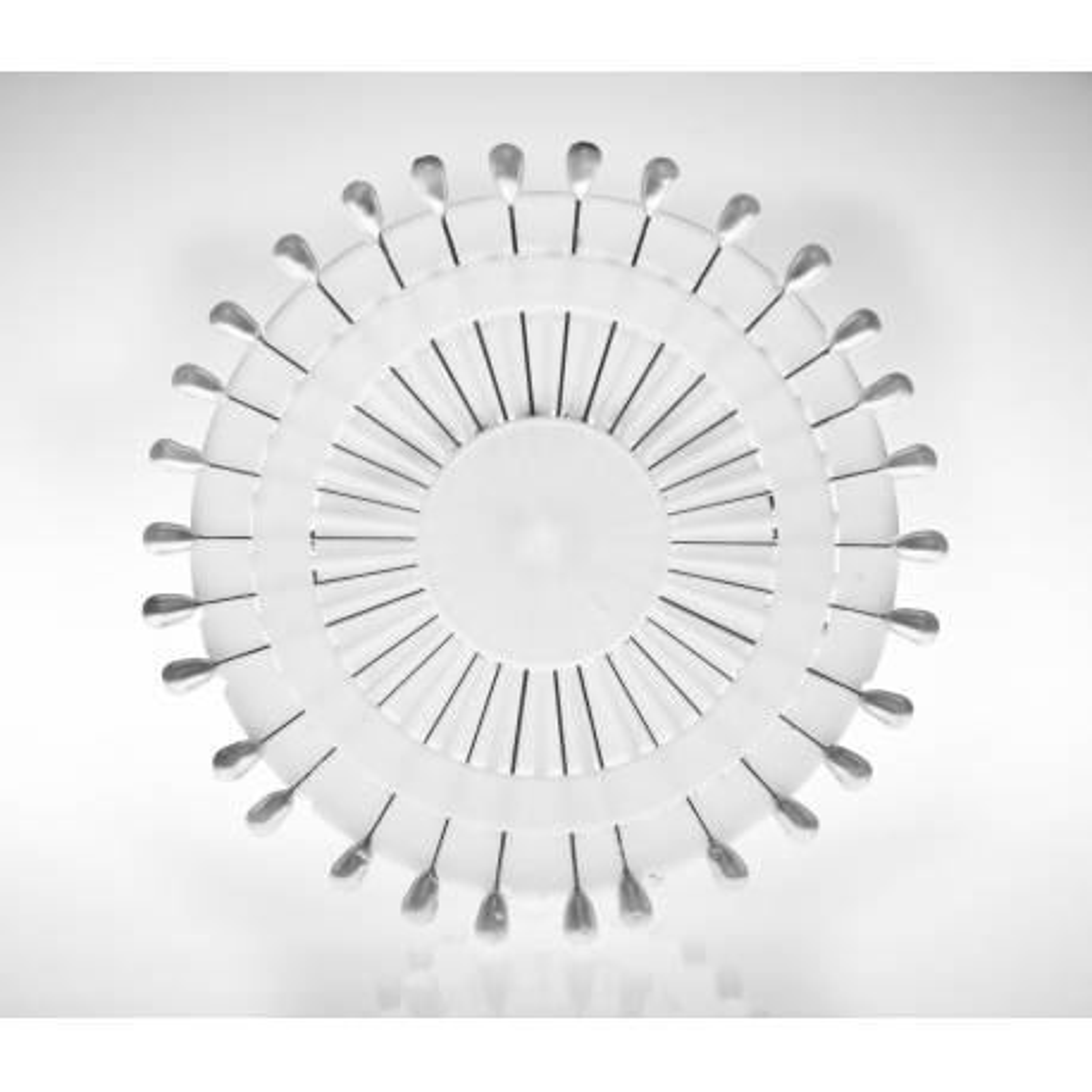 Szpilki z główką perłową krążek 0,75x50 mm