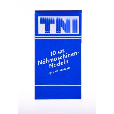 Szpilki z główką biała perła krążek 0,75x50 mm